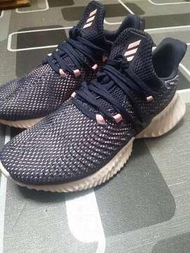 Adidas alphabounce instinct pink true blue size 39