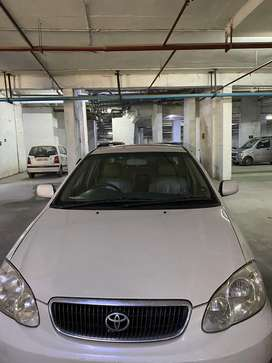Excellent condition toyota corolla petrol with cng