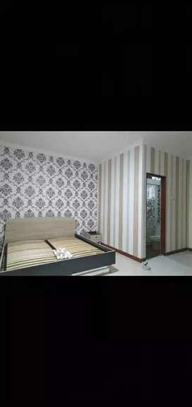 Wallpaper dinding design bikin nyaman dan sejuk