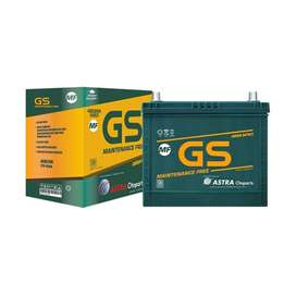 delivery aki/accu murah gs mf/kering ns40z 12v 35 ah 06