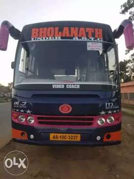 A luxury Bus .. is ready to sell.. with new body..nd engine