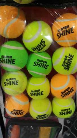 Tennis ball ( Shine , Addidas )