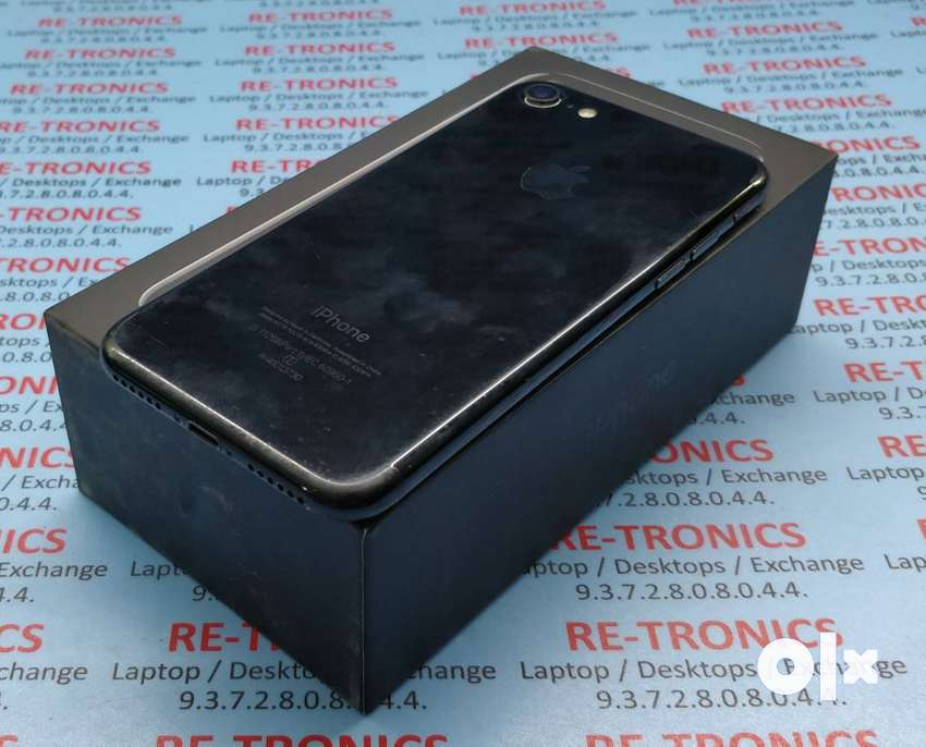 iPhone 7 128gb Storage Jet Black.Charger And Box Available 0