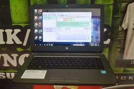Laptop hp 14 slim siap pakai