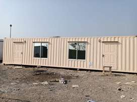 Dry empty container/ office container/porta cabin for sale