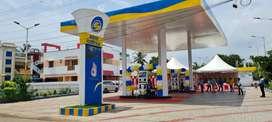 Petrol pump operater
