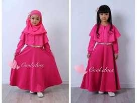 Gamis fashion pink