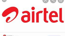 Receptionist job post ( Airtel office)