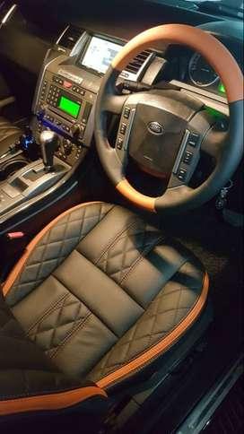 Sarung Setir Bahan Mbtech /Cover Sarung Stir Mobil