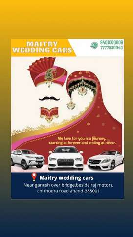 Cars on rent for wedding