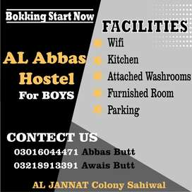 Al Abbas hostel Al jannat housing scheme
