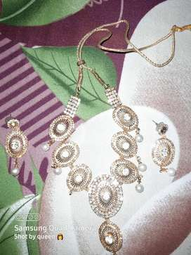 Necklace with earrings
