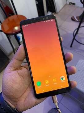 Samsung a8+ 6/64 fullset mulus