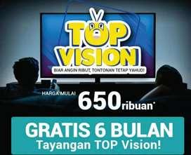 MNC vision Indovision hemat paket terjangkau