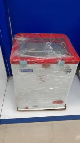 Blue Star Glass Top Freezer, Ice Cream Freezer, Cheapest price Guarant