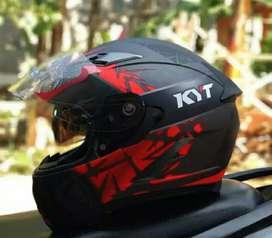 Helm KYT Vandetta 2 Fullface Mulus baru pakai 1 Bulan