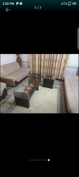 Sofa and 5 tables for sale