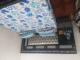 Bed  Dressing with 2 side tables