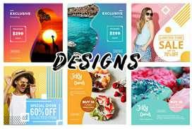 Part time Graphic Designer!