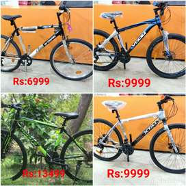 Offer montra roadeo btwin kross mach city gear cycle at best price