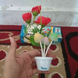 Lampu Tidur led jamur bunga