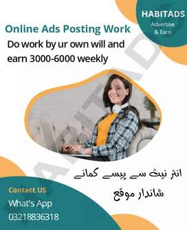 <×Online posting work for IT studends×>