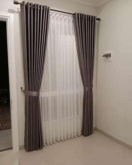 RCJ curtains gordyn gorden hordeng hasil mewah tampil elegan
