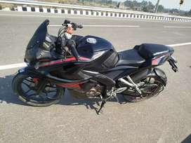 Bajaj rs 200 full aswm  full insurance service done exchange ktm /sale
