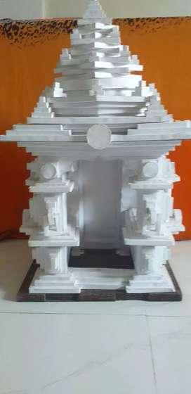 Handmade temples
