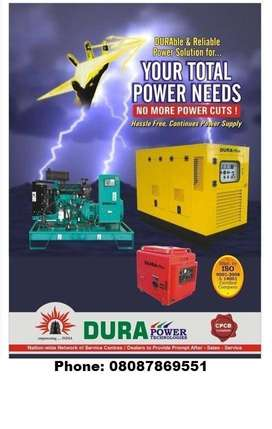 Power Generator Backup for Bungalow, Buildings, Farm House/Properties.