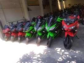Kawasaki ninja 250R tahun 2015 Bali dharma motor