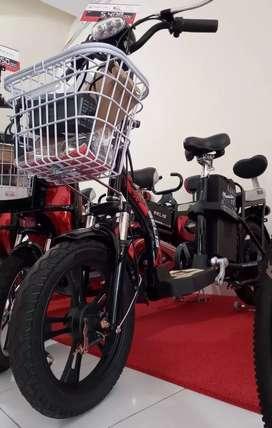 Sepeda listrik selis mandalika cash or credit