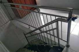 Railing tangga stenlis dan balkon #4141