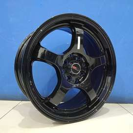 Three HSR ring 16x7 hole 8x100-114,3 et 40 Surakarta