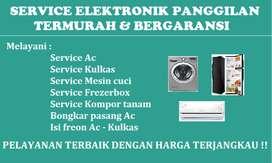 Service Ac   Isi freon Ac   Bongkar pasang Ac   service Mesin cuci