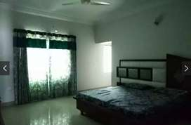One bed apartment full furnished for rent available model colony