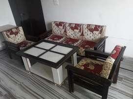 Sofa with tea table