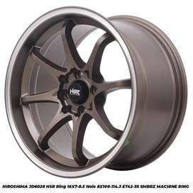 Velg Mobil Mazda Lantis dll HSR R16X7-85 H8X100-114,3 ET42-35 SMBRZ MR