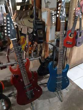 GiTaR listrik ibanez gitar pemula setring