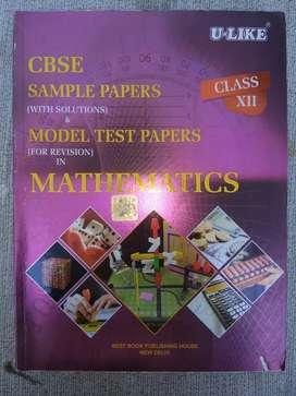 CBSE sample paper ulike class 12 mathematics
