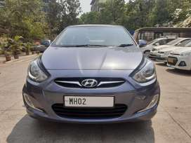 Hyundai Verna VTVT 1.6 AT SX Plus, 2014, Petrol