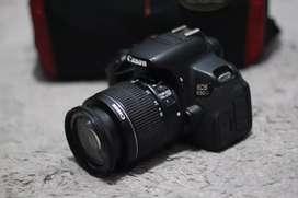 Canon 650D Bukan 600D 700D Mulus Normal Siap Pakai