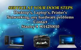 Service at your door steps computers laptops printers services