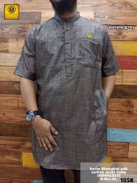 Gamis Kurta Oblong Koko Pria Original Al Amwa