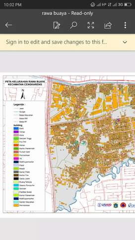 Jasa Pembuatan Peta dengan Software GIS
