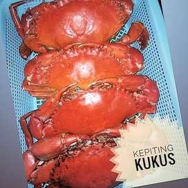 Kepiting kukus siap olah per kg