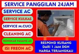 Service Showcase,Ac dan KULKAS TIDAK DINGIN di Surabaya Sidoarjo Murah