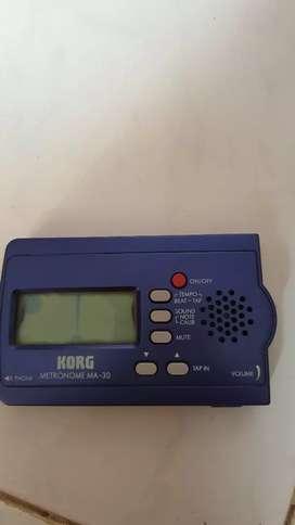 metronome korg second