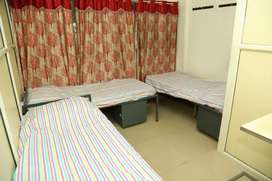 Single BED WITH FOOD @ 350 per day with WiFi, washing machine etc
