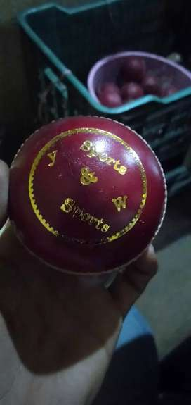 Cricket leather balls